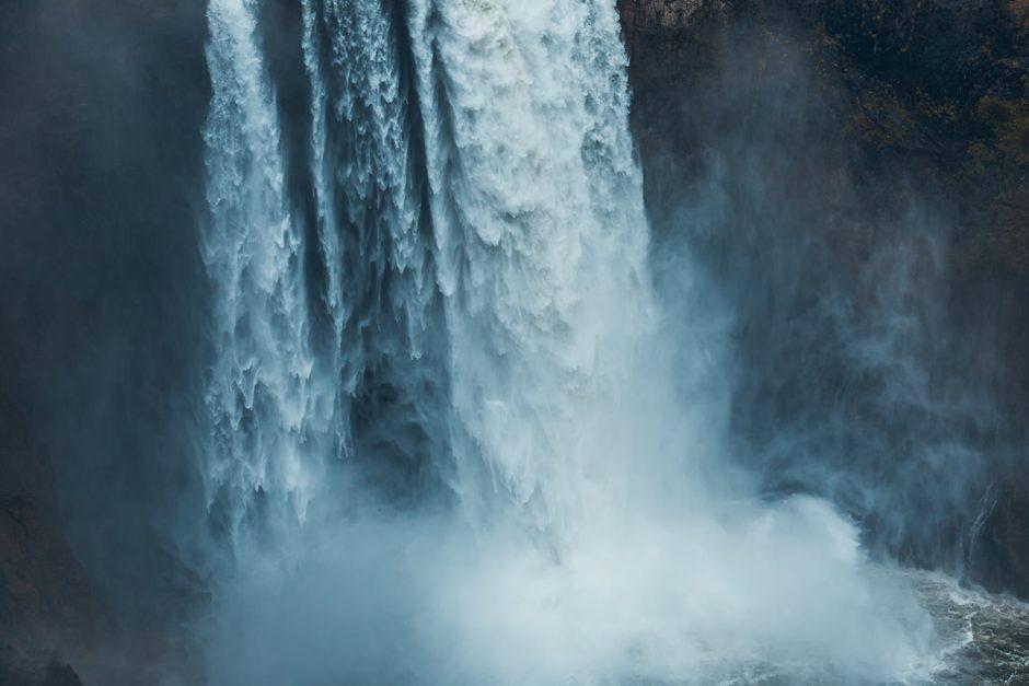 Ein donnernder Wasserfall