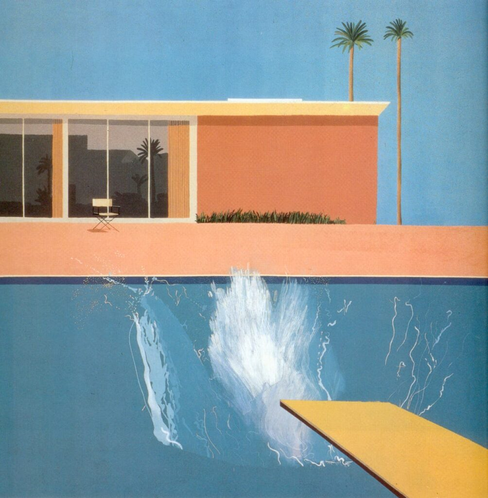 David Hockney Poolbilder