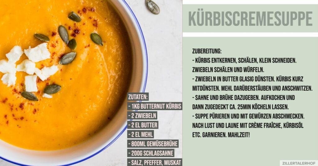 Rezept Kürbiscremesuppe