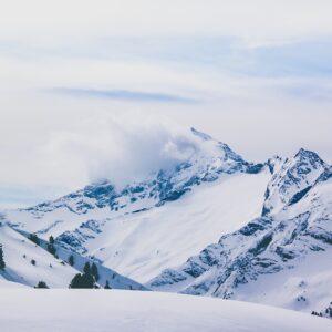 Bergpanorama Winterlandschaft Mayrhofen